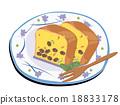 파운드 케이크 18833178