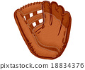 baseball glove 18834376