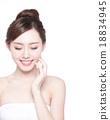 beautiful Skin care woman Face 18834945