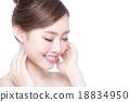 beautiful Skin care woman Face 18834950