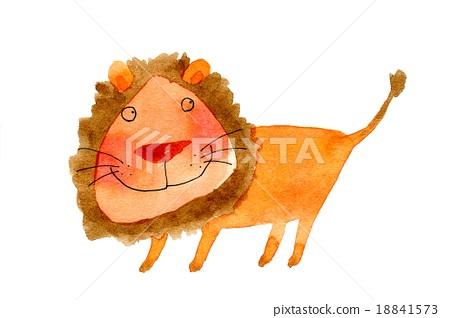 狮子 百兽之王 动物 18841573
