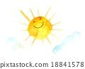 스마일 태양 18841578