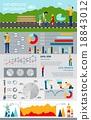 infographics, playing, tools 18843012