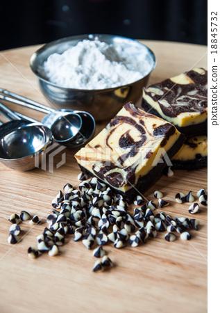 Brownie Cheese Cake 18845732