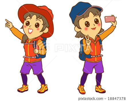Mountain girl 18847378