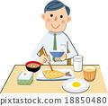 早餐 吃 品嚐 18850480