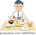 早餐 吃 品嚐 18850481