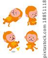 vector, vectors, monkey 18851118