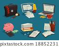 Business Cartoon Icons Set 18852231