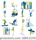 set, ski, sport 18852240