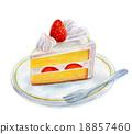 蛋糕 脆饼 西式甜点 18857460