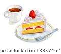 蛋糕 脆饼 点心 18857462