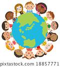 地球周围的儿童 18857771