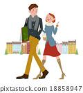 购物 夫妇 约会 18858947