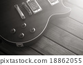 Sunburst Electric Guitar 18862055