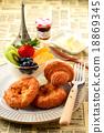 早餐 面包 莓 18869345