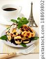 華夫餅 烘培食品 烘焙甜食 18869802