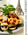 華夫餅 烘培食品 烘焙甜食 18869805