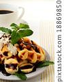 華夫餅 甜品 甜點 18869850