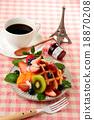 華夫餅 水果 西式甜點 18870208