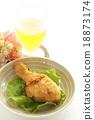 炸雞 果汁 雞 18873174