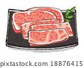 牛肉 肉 肉体 18876415