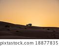 阿曼 沙漠 汽车 18877835