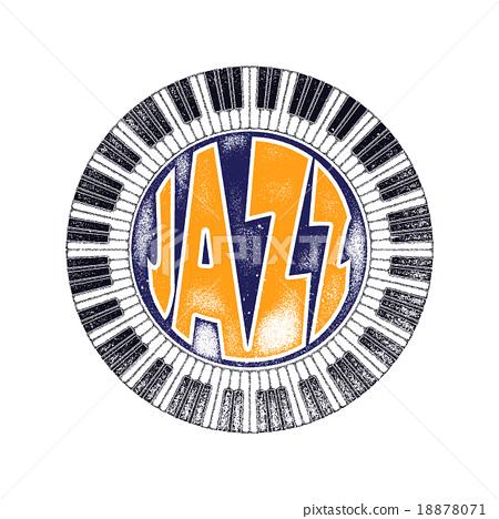 Urban jazz. Art concept.   18878071