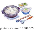 煮豆腐 調味品 用鍋烹飪 18880025