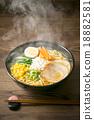 拉麵 麺 味噌拉麵 18882581