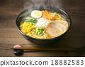 拉麵 麺 味噌拉麵 18882583
