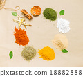 spices for health on background. 18882888