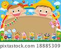 幼兒園 海報 矢量 18885309