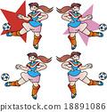 ทีมฟุตบอลหญิง 18891086