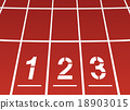 Start area of a running track 18903015