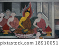 ntiques Thai style painting art about Buddha story 18910051