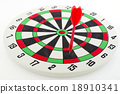 One darts in target 18910341