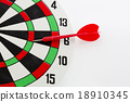 One darts in target 18910345