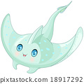 Cute Stingray 18917292