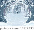 Magic Winter Castle 18917293