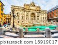 Rome, Trevi Fountain. Italy. 18919017