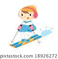 滑雪 夫人 女士 18926272