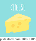 fresh tasty cheese graphic vector illustration 18927305