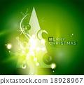 녹색, 휴일, 벡터 18928967