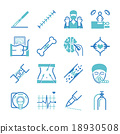 Surgery icons set 18930508