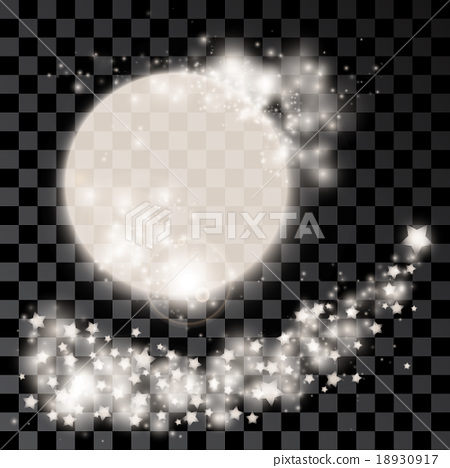 Abstract silver moon 18930917