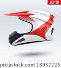 helmet, motorcycle, vector 18932225