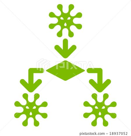 Virus Reproduction Icon 18937052