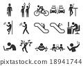 Stock Vector Illustration: City life icons - Illus 18941744
