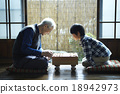 grandfather, shogi, grandchildren 18942973
